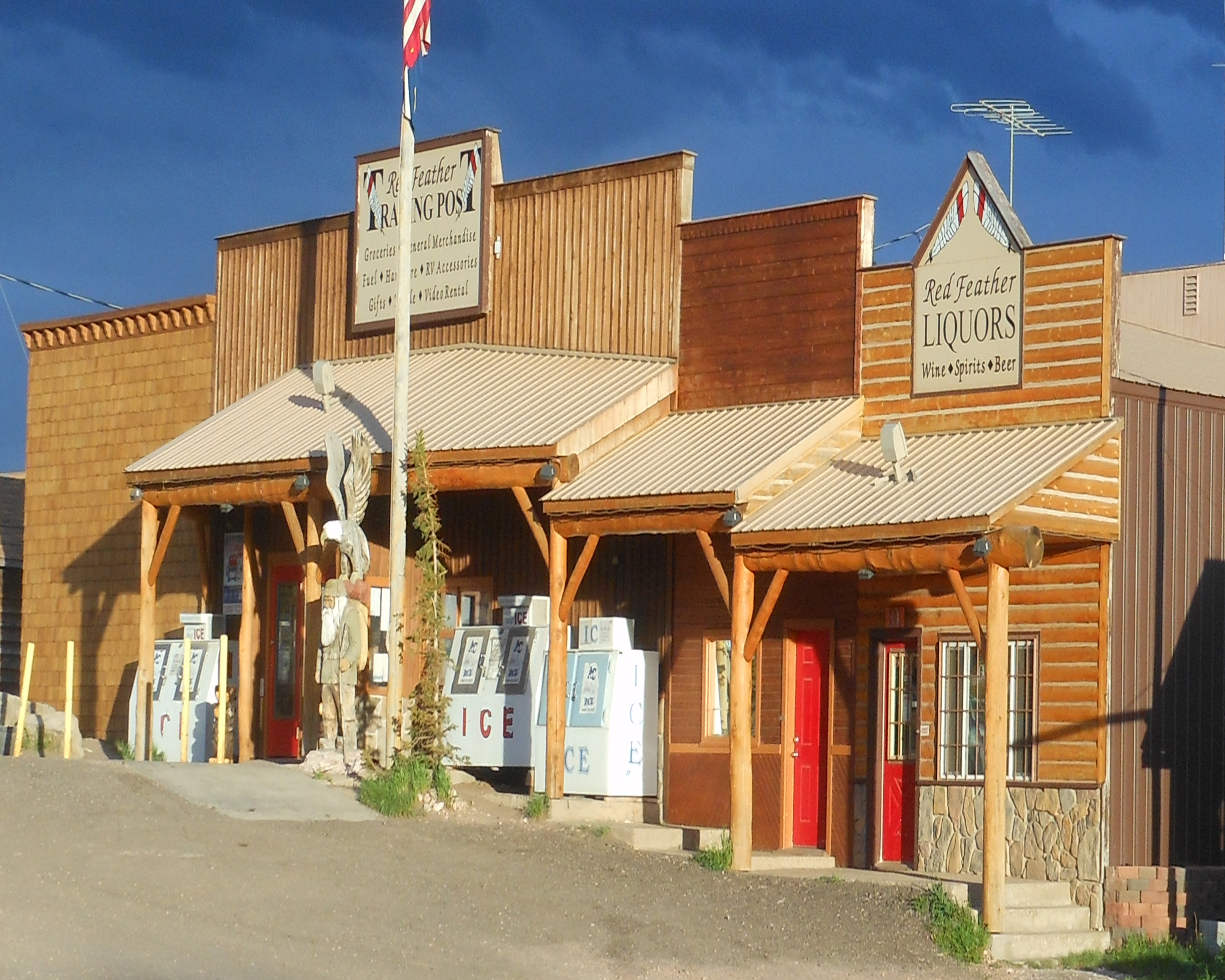 Red Feather Trading Post, Red Feather Lakes Colorado